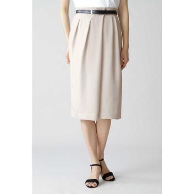 ◆麻調セットアップスカート