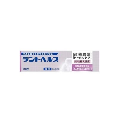 デントヘルス 薬用ハミガキ しみるブロック 28g ライオン 医薬部外品【RH】