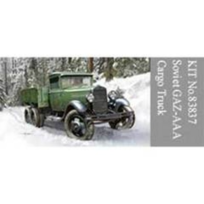 ホビーボス 1/35 ソビエト GAZ-AAAカーゴトラック【83837】 プラモデル 83837 GAZ-AAAカーゴトラック 【返品種別B】