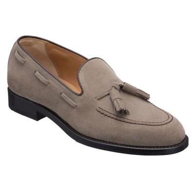 REGAL リーガル 12vrbf ベージュスエード タッセル付きスリッポン メンズ ビジネスシューズ カジュアルシューズ 靴