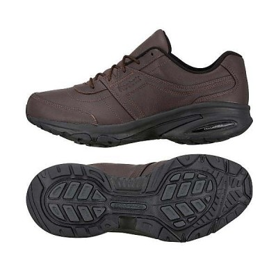 【販売主:スポーツオーソリティ】 リーボック/メンズ/レインウォーカー ダッシュ DMX エクストラワイド / Rainwalker Dash DMX Extra-Wide Shoes メンズ ダークブラウン/ブラック 27.5CM SPORTS AUTHORITY