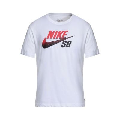 NIKE SB COLLECTION T シャツ ホワイト XS コットン 59% / ポリエステル 41% T シャツ