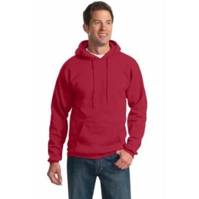ファッション トップス Port & Company Ultimate Pullover Hooded Sweatshirt PC90H Size S-4XL