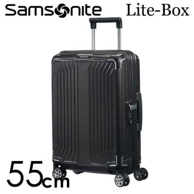 『期間限定ポイント10倍』 サムソナイト ライトボックス スピナー 55cm ブラック Samsonite Lite-Box Spinner 38L 79297