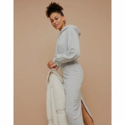 トップショップ Topshop レディース ワンピース ワンピース・ドレス sweater dress in grey グレー