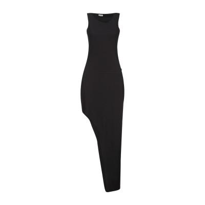 ノストラサンティッシマ NOSTRASANTISSIMA ミニワンピース&ドレス ブラック XXS コットン 87% / ポリウレタン 13% ミニ