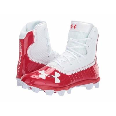アンダーアーマー スニーカー シューズ メンズ UA Highlight RM Red/White