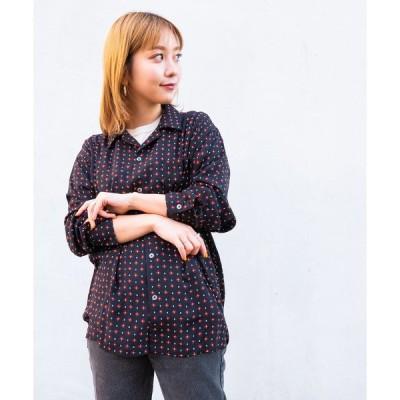 """シャツ ブラウス DETAILS /オープンカラーシャツ """"komon"""