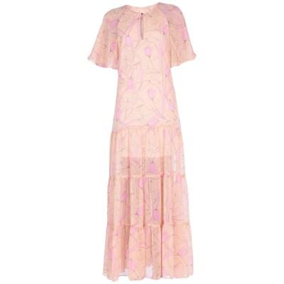 TRAFFIC PEOPLE ロングワンピース&ドレス サンド XS ポリエステル 100% ロングワンピース&ドレス