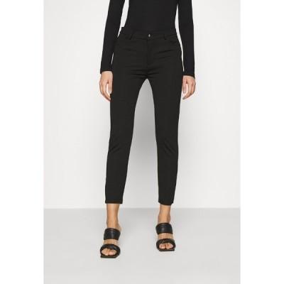 エブンアンドオッド カジュアルパンツ レディース ボトムス Slim Fit Punto Trousers - Trousers - black