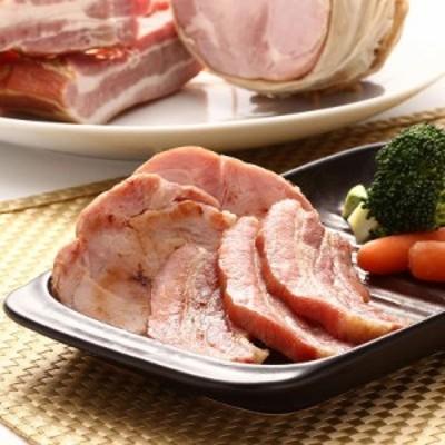 送料無料 ハム お取り寄せ ロースハム ベーコン 2種詰合せ 国産銘柄豚 学園手造りハムの会 茨城県
