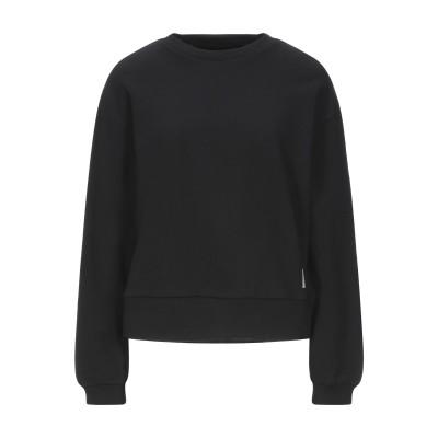 デパートメント 5 DEPARTMENT 5 スウェットシャツ ブラック L コットン 100% スウェットシャツ