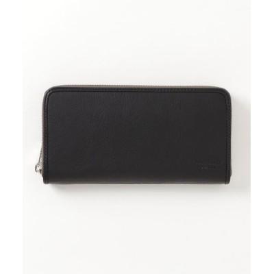 MARGARET HOWELL idea / MARGARET HOWELL idea(マーガレット・ハウエル アイデア) バウンドエッジ ラウンドファスナー束入れ MEN 財布/小物 > 財布