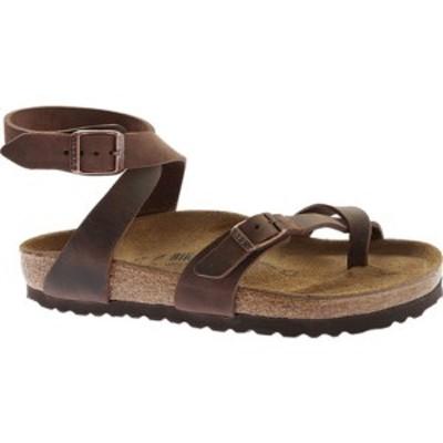 ビルケンシュトック レディース サンダル シューズ Yara Oil Leather Toe Loop Sandal Habana Oiled Leather