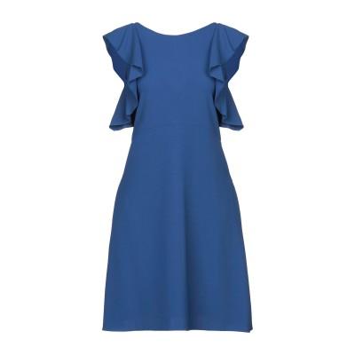 ANTONELLI ミニワンピース&ドレス ブライトブルー 42 ポリエステル 94% / ポリウレタン 6% ミニワンピース&ドレス