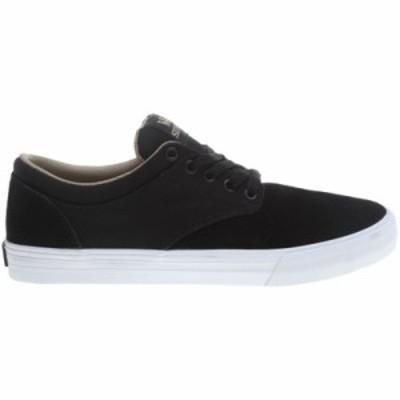 スープラ スニーカー Chino Skate Shoes Black/ White