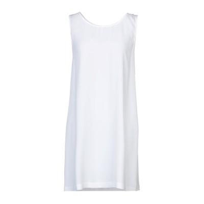 カルラ ジー CARLA G. ミニワンピース&ドレス ホワイト 40 レーヨン 93% / ポリウレタン 7% / アセテート / シルク ミニワ