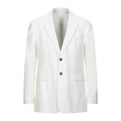 マウロ グリフォーニ MAURO GRIFONI テーラードジャケット ホワイト 48 バージンウール 54% / ポリエステル 45% / ポリウ