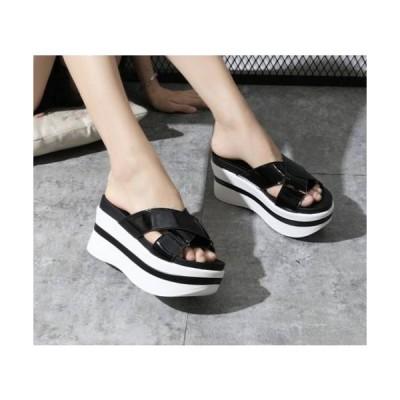 サンダル 厚底サンダル スポーツサンダル レディース 厚底 夏 春夏 歩きやすい 履きやすい 新品 白 黒 おしゃれ 疲れにくい スポサン カジュアル 美脚 可愛い
