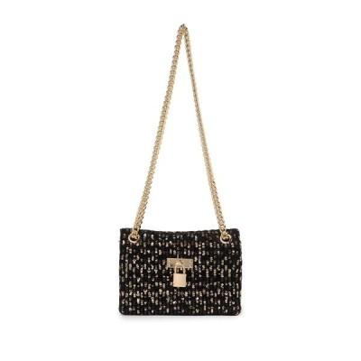カートジェイガーロンドン レディース ショルダーバッグ バッグ Mini Brixton Sequins Lock Bag CHARCOAL