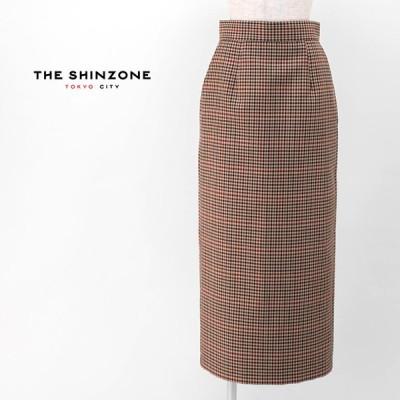 THE SHINZONE シンゾーン レディース チェックスカート(20AMSSK06)(2020FW)