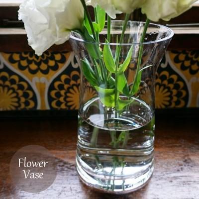 フラワーベース1個 硝子ベース 花瓶 ボブクラフト ブルームS ガラスボトル  FKRSL ボブクラフト838-2ブルームS
