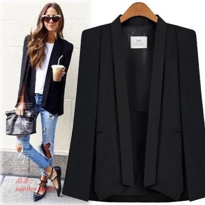 テーラードジャケット オシャレ 30代 ゆったり レディース ブラック コート 20代 40代 マント アウター 50代 秋 ホワイト ポンチョ