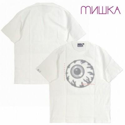 MISHKA ミシカ Tシャツ 半袖 プリント DOT KEEP WATCH TEE