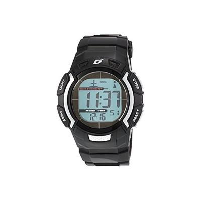 [アリアス] 腕時計 デジタル 電波 ソーラー メンズ ブラック × シルバー AD06519RCSOL5