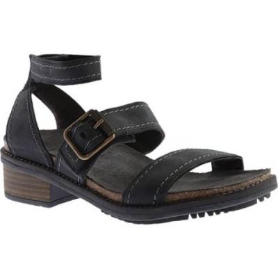 ナオト Naot レディース サンダル・ミュール アンクルストラップ シューズ・靴 Beatnik Ankle Strap Sandal Oily Coal Nubuck