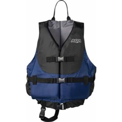 アクア マリンスポーツ ユニセックス ライフジャケット 20 ブラック/ネイビー 運動会用品(ka9020a-25)