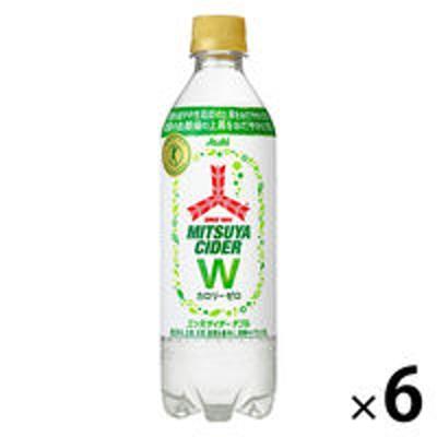 アサヒ飲料【トクホ・特保】アサヒ飲料 三ツ矢サイダーW(ダブル) 485ml 1セット(6本)