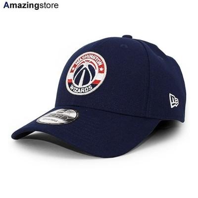ニューエラ 9FORTY ワシントン ウィザーズ 【NBA TEAM-COLOR ADJUSTABLE CAP/NAVY】 NEW ERA WASHINGTON WIZARDS