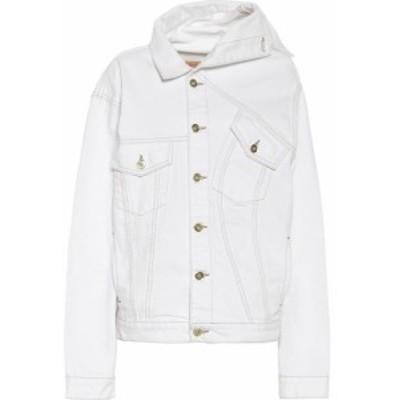 ワイプロジェクト Y/PROJECT レディース ジャケット Gジャン アウター Denim jacket White