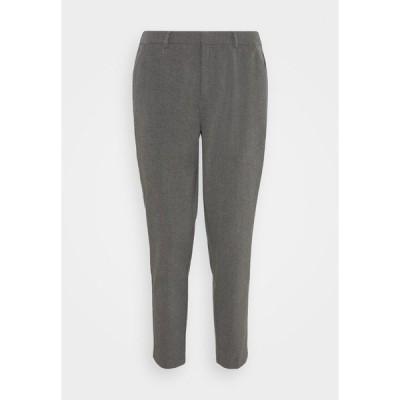 アンナフィールド カジュアルパンツ レディース ボトムス Trousers - mottled dark grey