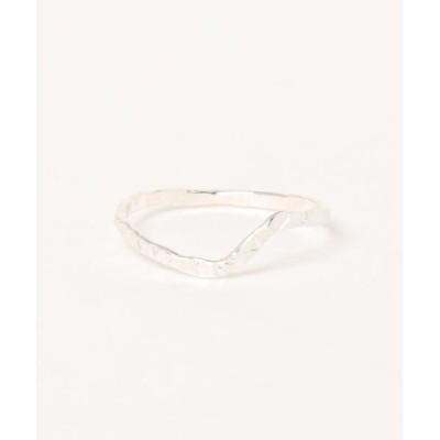 TONE / 【V&SSS】diamond dust step ring sv925 WOMEN アクセサリー > リング