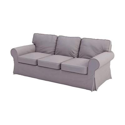 Sofa Covers Custom Made Compatible for IKEA Ektorp 3 Seat Sofa Slipcovers (