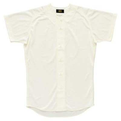 ゼット 野球 ソフト ユニフォームシャツ 16SS アイボリー ヤキュウユニホーム(bu1071-3100)