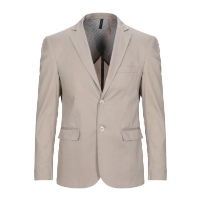 VINCENT TRADE テーラードジャケット ベージュ 50 コットン 97% / ポリウレタン 3% テーラードジャケット