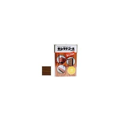 キシラデコール #111ウォルナット [0.7L] XYLADECOR 日本エンバイロケミカルズ 屋外木部 ログハウス ウッドデッキ [木材保護塗料]