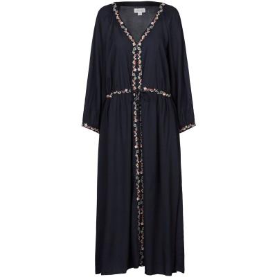 VELVET by GRAHAM & SPENCER 7分丈ワンピース・ドレス ダークブルー M レーヨン 100% 7分丈ワンピース・ドレス