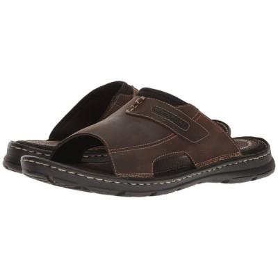 ロックポート Rockport メンズ サンダル シューズ・靴 Darwyn Slide 2 Brown II Leather