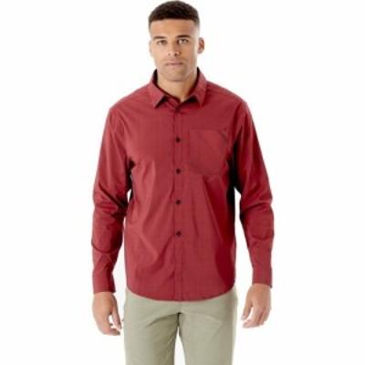 ラブ Rab メンズ シャツ トップス Mello Long - Sleeve Shirt Oxblood Red Marl