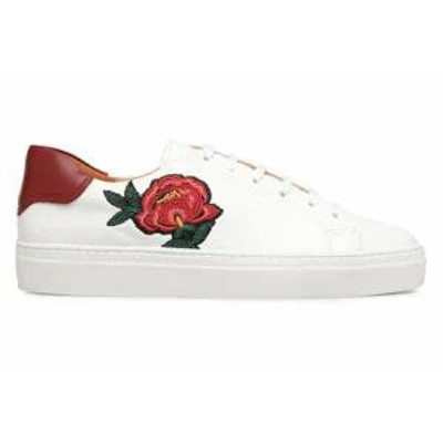 Made by SARENZA レディーススニーカー Trainers Toundra Girl Baskets #1 White Cuir