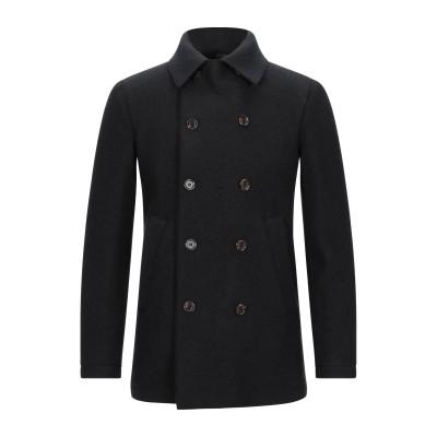 イレブンティ ELEVENTY コート ブラック 54 ウール 100% コート