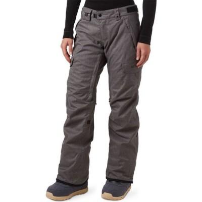 シックス エイト シックス 686 レディース スキー・スノーボード カーゴ ボトムス・パンツ Smarty 3-in-1 Cargo Pant Grey Melange