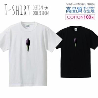 ソフトクリーム Tシャツ メンズ サイズ S M L LL XL 半袖 綿 100% よれない 透けない 長持ち プリントtシャツ コットン