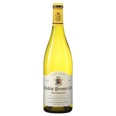 白ワイン ジャン ポール エ ブノワ ドロワンシャブリ プルミエ クリュ モンマン 750ml (稲葉 フランス 白ワイン FC141) wine