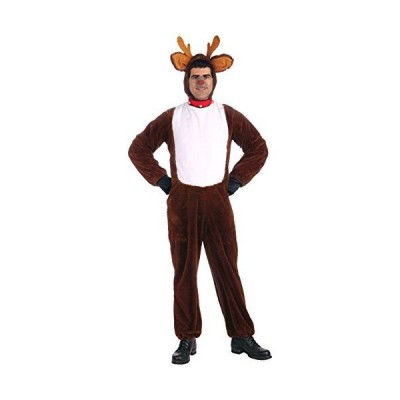 Reindeer Adult Costume トナカイの大人用コスチューム サイズ:Standard