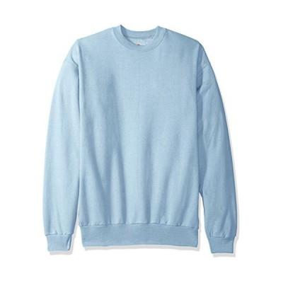 Hanes P160 Comfort Blend Ecosmart Crew Sweatshirt Size - Medium - Light Blue 並行輸入品 送料無料